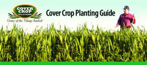 Cover Crop Planting Guide