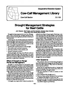 Cow-Calf Management Library