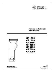 CP 550 CP 750 CP 1150 CP 1650 CP 2250 CP 3050 CP 4250