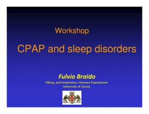 CPAP and sleep disorders