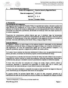 CPC-1015 SATCA 1 : Carrera: