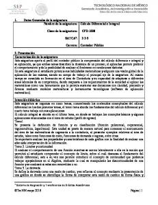 CPD-1008 SATCA 1 : Carrera: