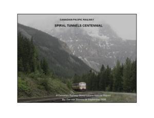 CPR SPIRAL TUNNELS CENTENNIAL