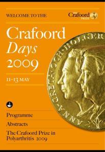Crafoord Days may