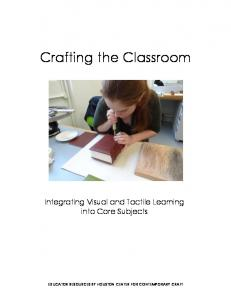 Crafting the Classroom