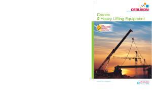 Cranes & Heavy Lifting Equipment