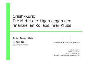 Crash-Kurs: Die Mittel der Ligen gegen den finanziellen Kollaps ihrer Klubs