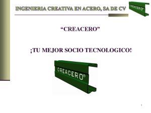 CREACERO TU MEJOR SOCIO TECNOLOGICO!