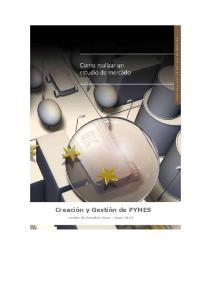 Creación y Gestión de PYMES