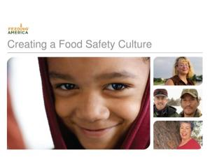 Creating a Food Safety Culture