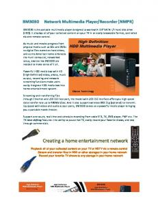 Creating a home entertainment network