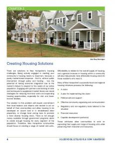 Creating Housing Solutions