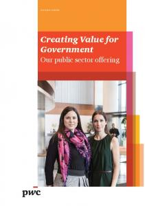 Creating Value for Government