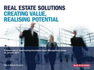 Creating Value, Realising Potential