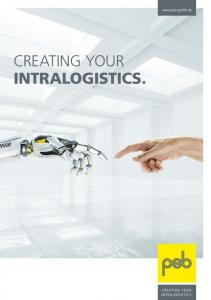 CREATING YOUR INTRALOGISTICS. psb intralogistics CREATING YOUR INTRALOGISTICS. 1
