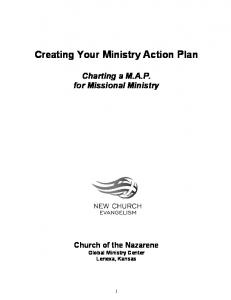 Creating Your Ministry Action Plan