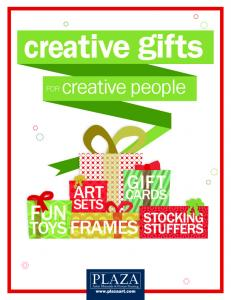 creative gifts FUN creative people GIFT ART TOYS FRAMES CARDS STOCKING STUFFERS FOR