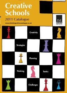 Creative Schools 2011 Catalogue