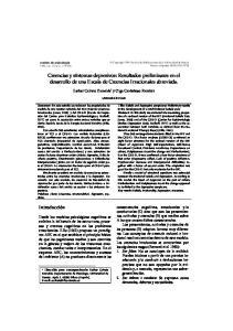 Creencias y síntomas depresivos: Resultados preliminares en el desarrollo de una Escala de Creencias Irracionales abreviada