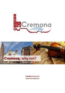 Cremona, why not?