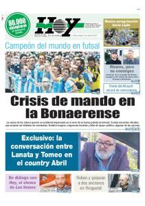 Crisis de mando en la Bonaerense