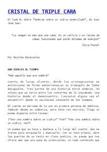 CRISTAL DE TRIPLE CARA