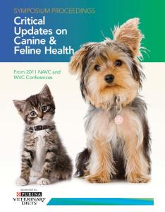 Critical Updates on Canine & Feline Health
