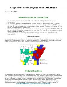 Crop Profile for Soybeans in Arkansas