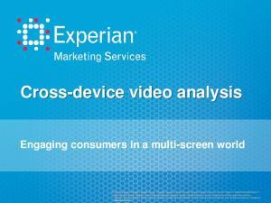 Cross-device video analysis