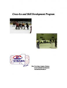 Cross-Ice and Skill Development Program