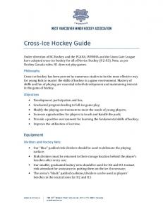 Cross-Ice Hockey Guide