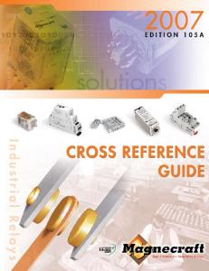 Cross Reference Guide