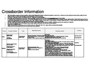 Crossborder Information