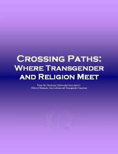 Crossing Paths: Where Transgender and Religion Meet