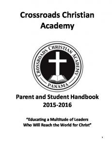 Crossroads Christian Academy