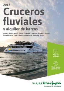Cruceros fluviales. y alquiler de barcos