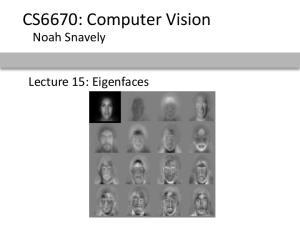 CS6670: Computer Vision