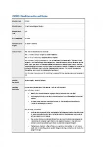 CS7029: Visual Computing and Design