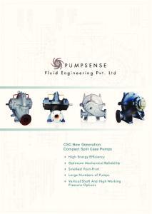CSC New Generation Compact Split Case Pumps