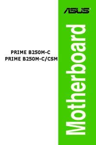 CSM. Motherboard