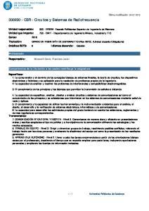 CSR - Circuitos y Sistemas de Radiofrecuencia