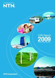 CSR Report. Corporate Social Responsibility Report