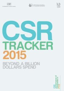 CSR TRACKER DOLLARS SPEND CSR