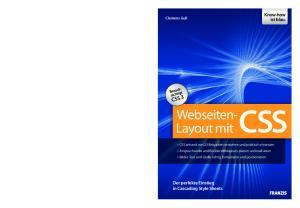 CSS. Webseiten- Layout mit. Know-how ist blau. Der perfekte Einstieg in Cascading Style Sheets