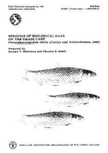Ctenopharyngodon idella (Cuvier and Valenciennes, 1844)