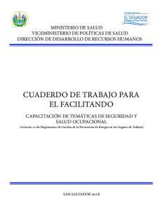 CUADERDO DE TRABAJO PARA EL FACILITANDO