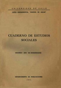 CUADERNO DE ESTUDIOS SOCIALES