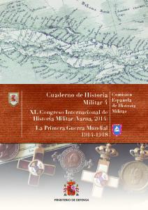 Cuaderno de Historia Militar 4
