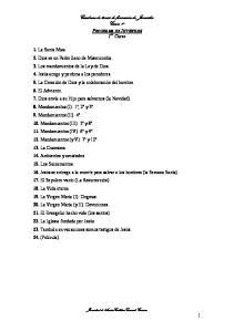 Cuaderno de temas de formación de Juveniles Curso 1º PROGRAMA DE JUVENILES 1 er Curso