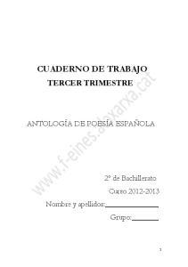 CUADERNO DE TRABAJO TERCER TRIMESTRE